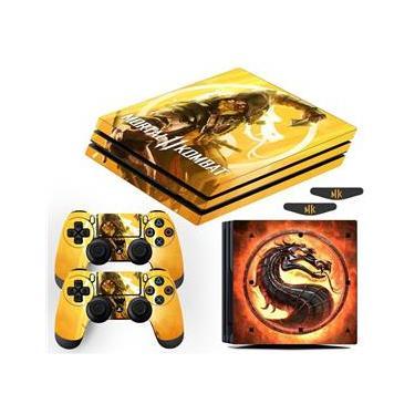 Skin Ps4 Pro Scorpion Mortal Kombat 11