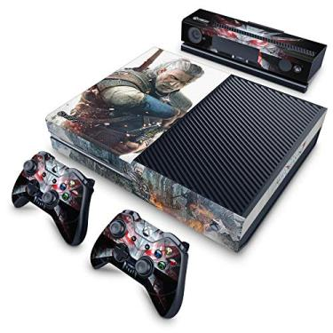 Skin Adesivo para Xbox One Fat - The Witcher 3#B