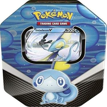 Imagem de Lata Pokémon Parceiros de Galar Inteleon - Copag