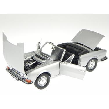 Imagem de 1971 Peugeot 504 Cabriolet Grey 1/18 Diecast Car Model by Norev