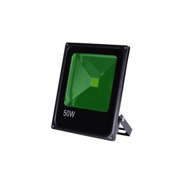 Refletor 50w Verde Led Bivolt Prova D'água IP66