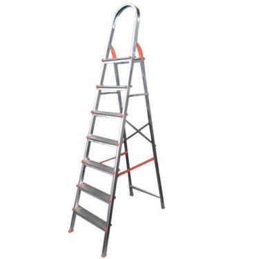Escada de alumínio 7 degraus residencial - EDS007 - Agata