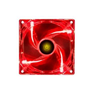 Cooler V Light 120x120mm Fan Gabinete Vinik Vermelho