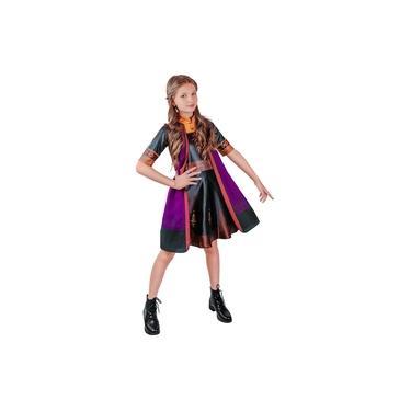 Imagem de Fantasia Anna Frozen 2 Vestido Infantil Original Disney Roupa Festa Tema Princesas Pop