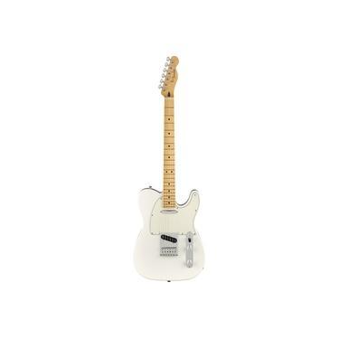 Imagem de Guitarra Fender Mex Player Series Telecaster MN 014 5212 515 Polar White
