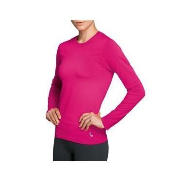 Camiseta Lupo Feminina Térmica Com Proteção UV - Manga Longa Lupo ref. 71610