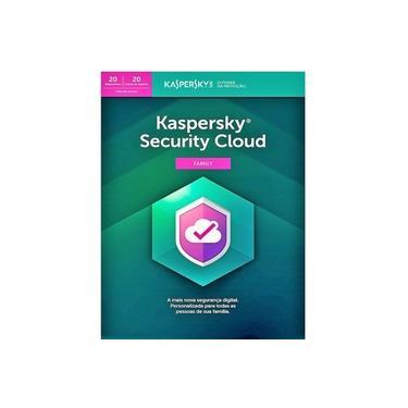 Kaspersky Security Cloud - Family 20 Dispositivos 1 ano Versão 2021