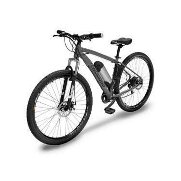 Bicicleta Two Dogs MTB Aro 29 - Cinza - 21v - Elétrica