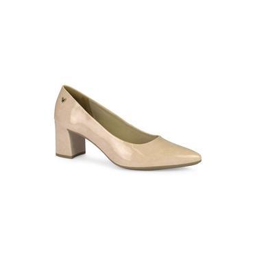 Sapato Mississipi Scarpin Salto Baixo Grosso Bico Fino Q0161