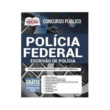Imagem de Apostila Polícia Federal (Pf) 2021 - Escrivão De Polícia