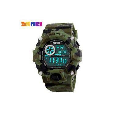 328a58f52de Relógio Original Skmei Camuflado Prova D água Masculino 1019