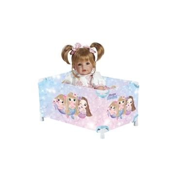 Imagem de Berço Chiqueirinho de Boneca Baby Alive Princesas Sereias