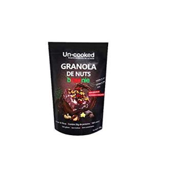 Granola de Castanhas com pedaços de Brawnie Sem Glúten Vegano Uncooked 250g