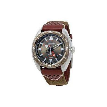 7f71b9a4a2d Relógio Masculino Seiko Prospex Gmt - Modelo Se-SUN061 A prova d  água
