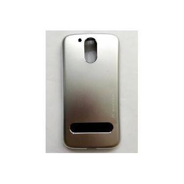 Capa Alumínio + Película de Vidro Motorola Moto G4 PLUS XT1640
