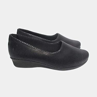Sapato Malu Super Comfort Eloá Feminino Preto 38