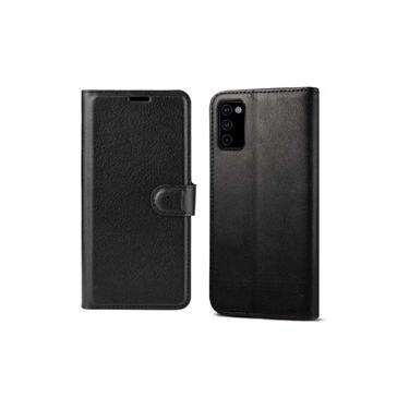 Capa Capinha Carteira Protetora Para Smartphone Samsung Galaxy M51 Preto