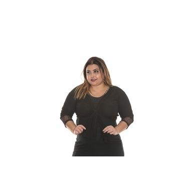 Blusa Bolero PLUS SIZE roupa feminina tamanho 46 ao 50 cod 064