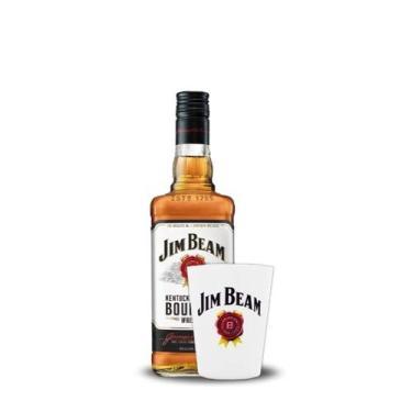 whisky jim beam white 1l