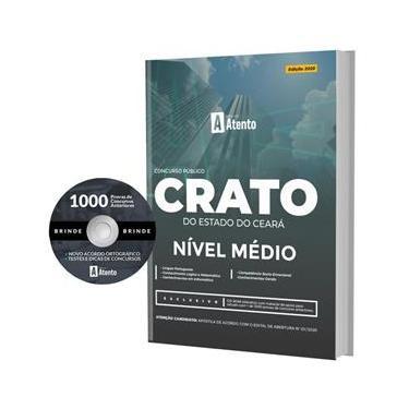 Imagem de Apostila Crato Do Estado Do Ceará - Nível Médio Com Cd