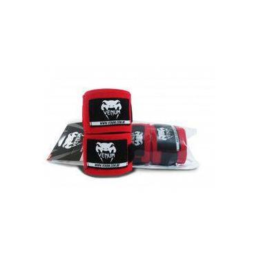 Bandagem Venum Elite 4,0 Metros Vermelha