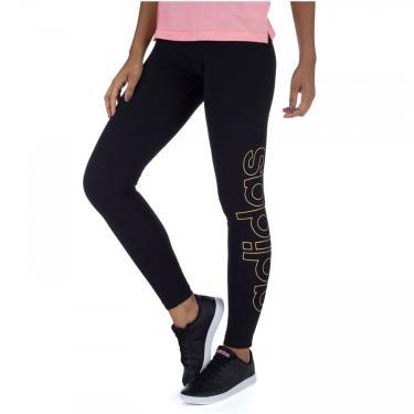 Calça Legging adidas Ess Brand - Feminina adidas Feminino