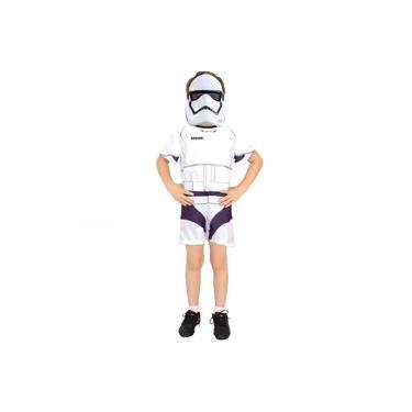 Fantasia Star Wars Stormtrooper Infantil Curta Original Disney 1163