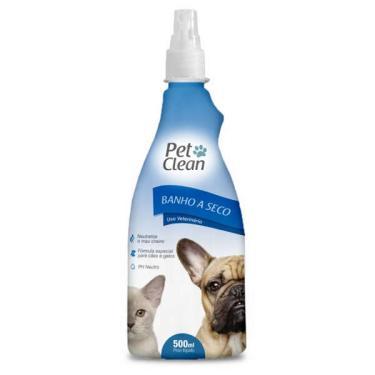 Banho a Seco Pet Clean Liquido para Cães e Gatos - 500 mL
