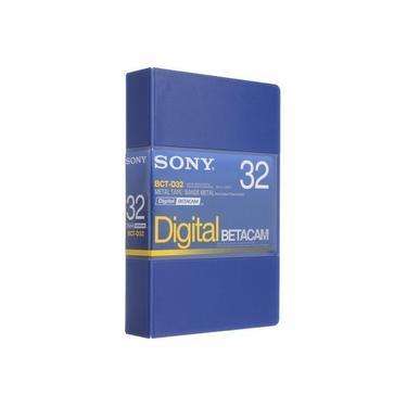Fita Betacam Sony BCT-D32 de 32 Minutos