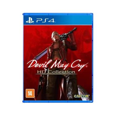 Jogo PS4 Devil May Cry Hd Collection
