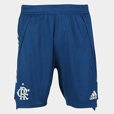 Short Calção Flamengo 2020/21 Treino Adidas Masculino - Azul FH7573 (M)