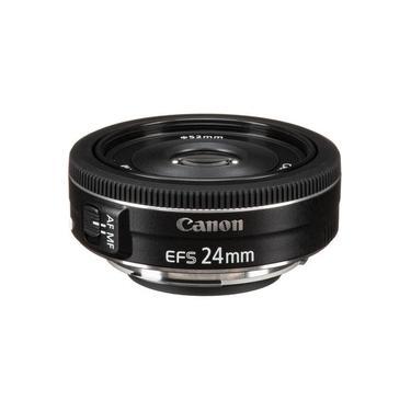 Lente Canon EFs 24mm f/2,8 STM