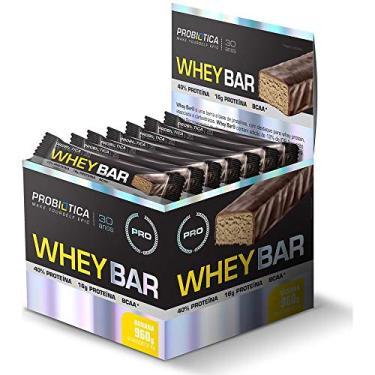Whey Bar (Caixa 24 Barras) - Probiotica Sabor Banana