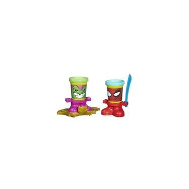 Imagem de Massa de Modelar Play Doh Marvel com 2 Potes Hasbro B0594
