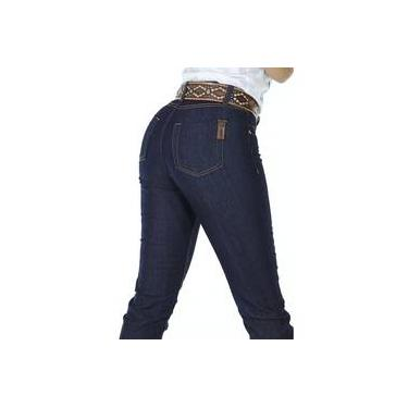 Calça Jeans Feminina Cowboy ST Slim Azul ac1cd571dfc