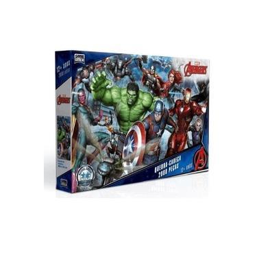 Imagem de Quebra Cabeça Os Vingadores Avengers - Marvel 2000 Peças