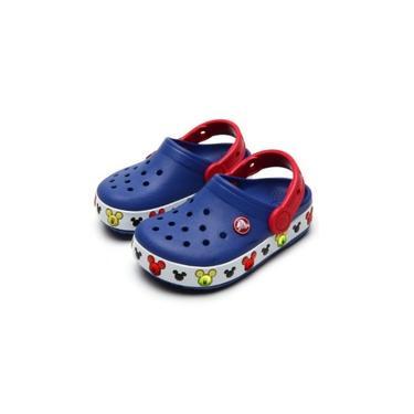 Crocs Mickey Com Led Azul 014935