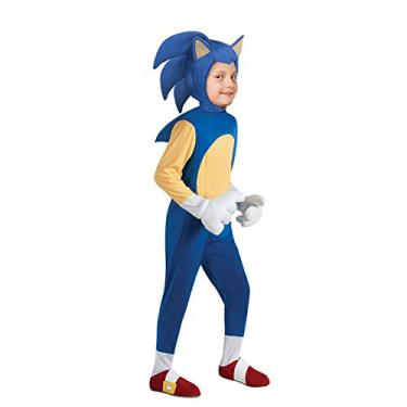 Imagem de Anime Sonic Kids Game Character Dress Up Stage Show Performance, Fantasia Infantil Halloween Mouse