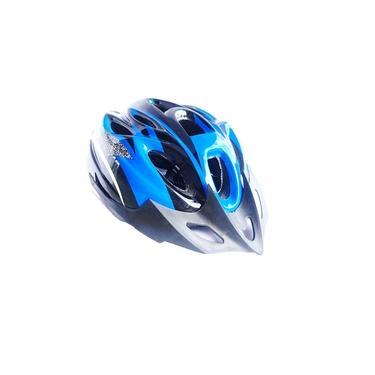 Capacete Ciclista Adulto Regulagem Tamanho Bike Ciclismo Skate Patins - Azul