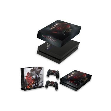 Capa Anti Poeira e Skin para PS4 Fat - Metal Gear Solid 5: The Phantom Pain