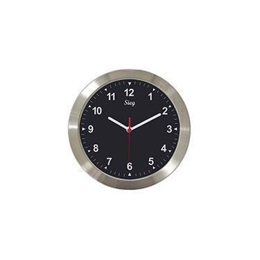 Relógio de Parede 27cm aluminio 3003-11 Sieg CX 1 UN