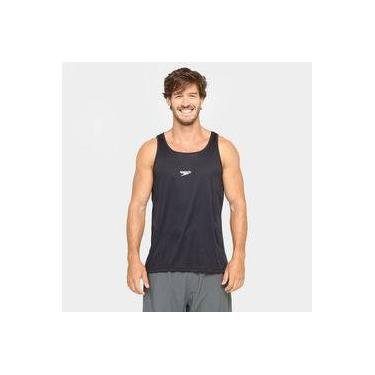 Camiseta Regata Basic Interlock Preto Tam P - Speedo a2aeadf865c