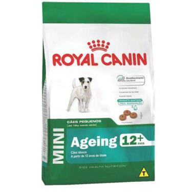 Ração Royal Canin Mini Ageing 12+ Cães Idosos de Raças Pequenas com 12 Anos ou mais - 2,5 Kg