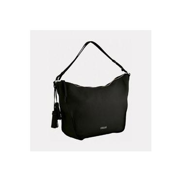 Bolsa feminina em couro, modelo de ombro e transversal Sagga 35274