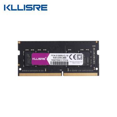 Kllisre ddr4 4gb 8gb 16gb 2133 2400 2666 3000 3200 ram sodimm portátil memória suporte notebook