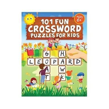 Imagem de 101 Fun Crossword Puzzles for Kids