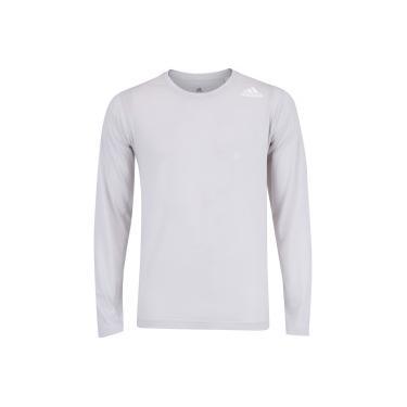 513af453bf Camiseta Manga Longa adidas FreeLift Prime LS - Masculina - CINZA CLARO  adidas
