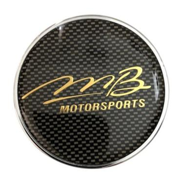 Boné Mb Motorsports C-062 85683 preto e dourado central