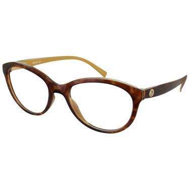 6980e6d770a32 Óculos de Grau Capricho Vintage Fever 76003 687 51 Tartaruga