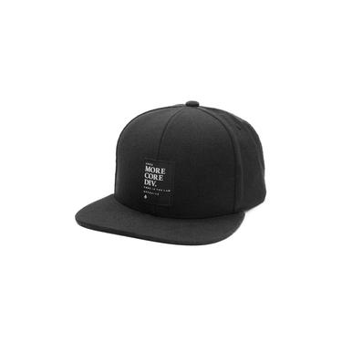 Bone Mcd Aba reta Snapback Core Is Law Preto